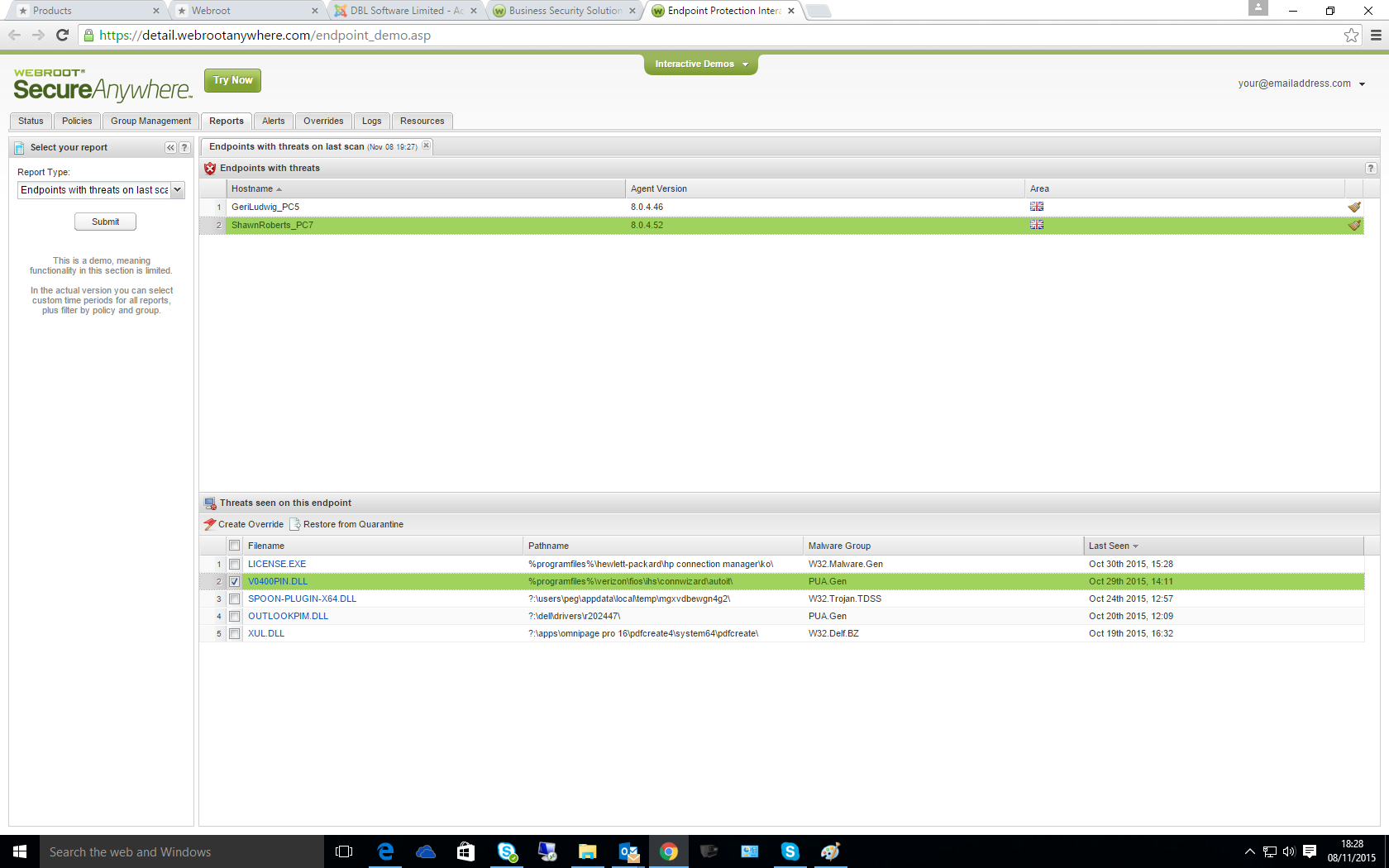 Webroot Secure Anywhere - Lightest and fastest AV - DBL Software